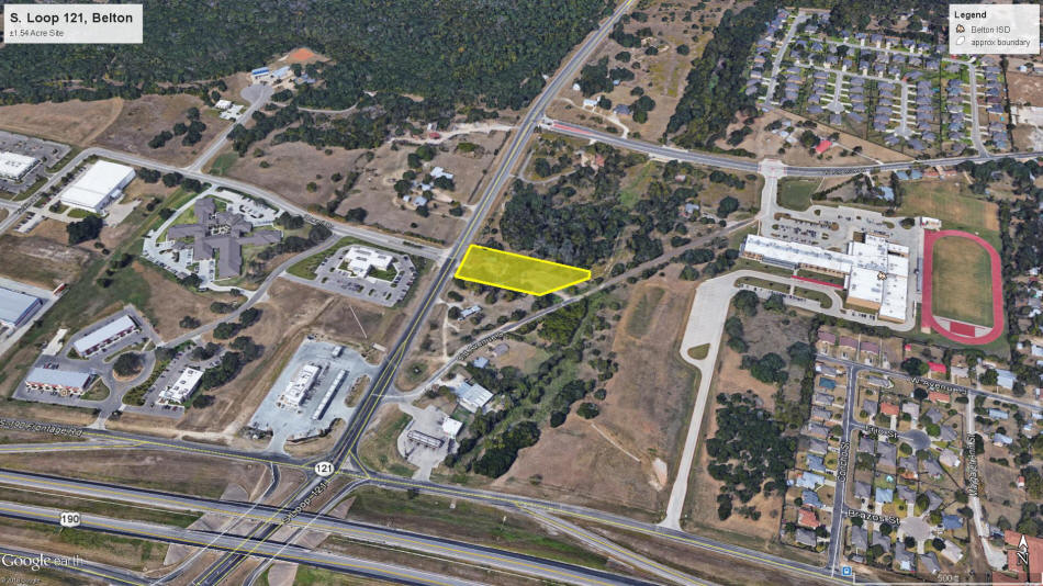 Jirasek Realty - Commercial Land for Sale - 1 54 Acres, Loop